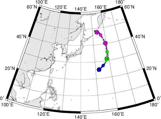 平成28年台風第2号 Tropical Storm Lupit (2016)