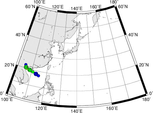 平成28年台風第3号 Severe Tropical Storm Mirinae (2016)