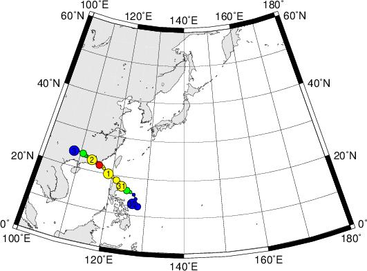 平成28年台風第4号 Severe Tropical Storm Nida (2016)