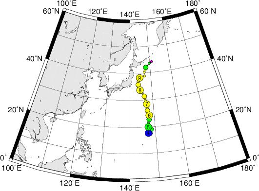 平成28年台風第5号 Severe Tropical Storm Omais (2016)