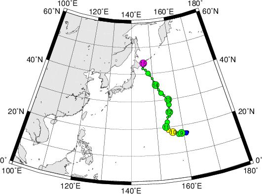 平成28年台風第6号 Severe Tropical Storm Conson (2016)