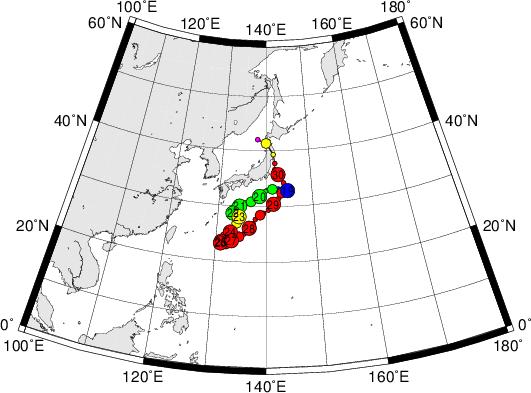 平成28年台風第10号 Typhoon Lionrock (2016)