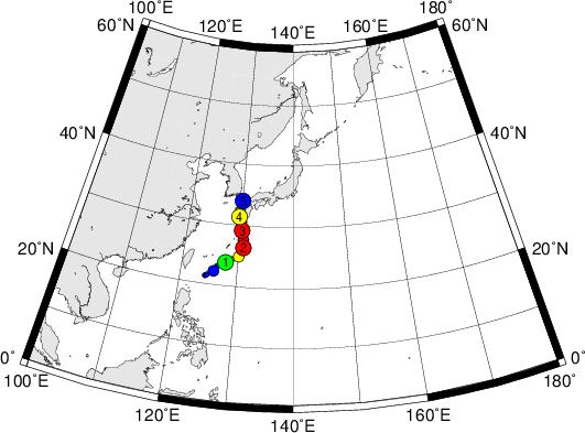平成28年台風第12号 Typhoon Namtheun (2016)