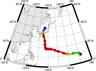 平成27年台風第11号 Super Typhoon Nangka (2015)