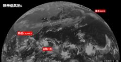 2016年10月14日0時 ひまわり8号赤外線画像
